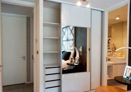 puertas para closet, sistemas corredizos para closet