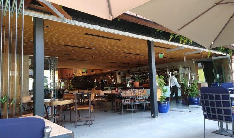 Fachada restaurant Rubaiyat, Vitacura